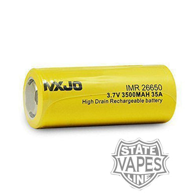 MXJO 26650 Yellow 3500mahStateline Vapes