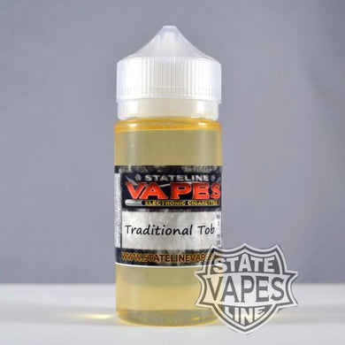 Stateline 100ml Traditional TobaccoStateline Vapes