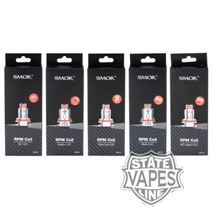 SMOK RPM Replacement 5pk CoilsStateline Vapes