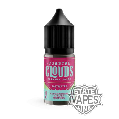Coastal Clouds Salt nic - Melon Berries 30ml