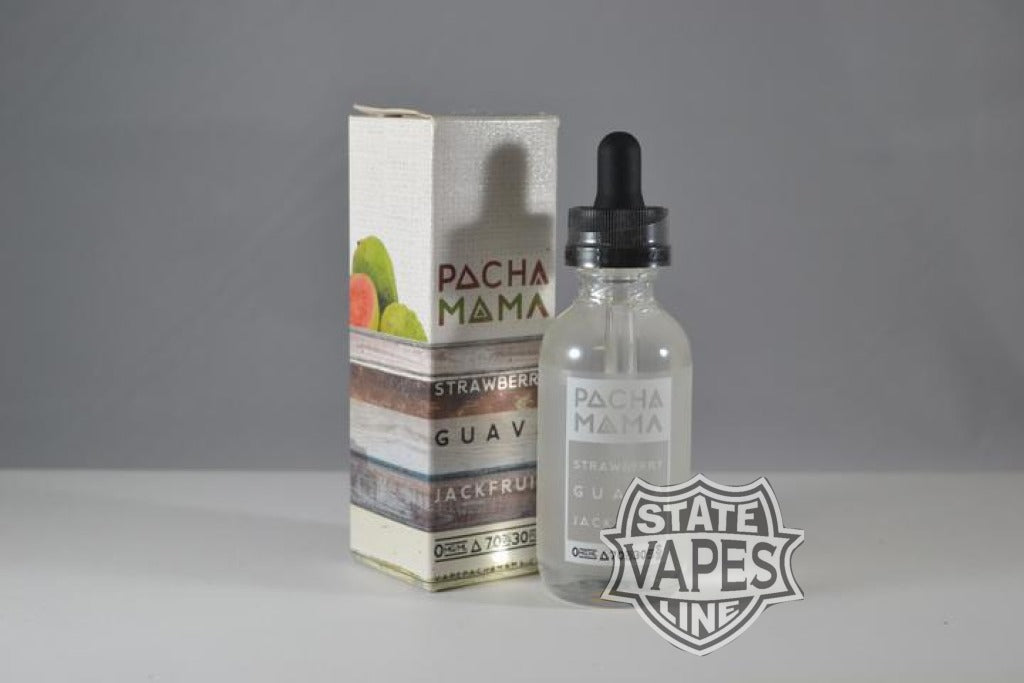 Pachamama Strawberry Guava Jackfruit 60Ml 0Mg Eliquid