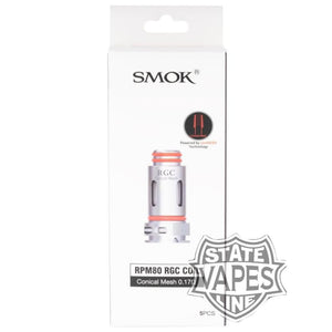 SMOK RPM80 RGC Replacement 5pk CoilsStateline Vapes