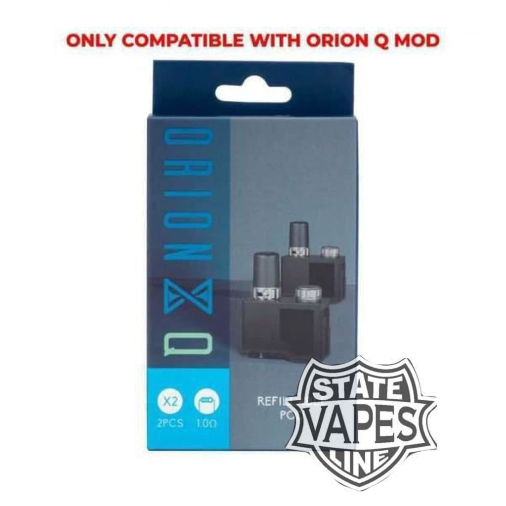 Orion Q 2pk Replacement Pods by Lost Vape1.0ohmStateline Vapes