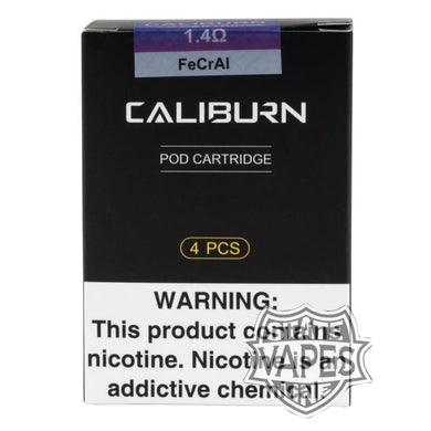 Uwell CALIBURN 4pk Replacement PodsStateline Vapes