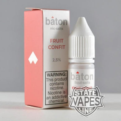 Baton Fruit Confit Nic Salt 10ml - Stateline Vapes