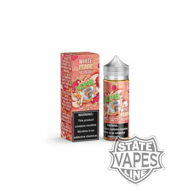 Noms X2 White Peach Raspberry 120ml by LotusStateline Vapes