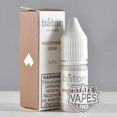 Baton Southern Leaf Nic Salt 10ml - Stateline Vapes