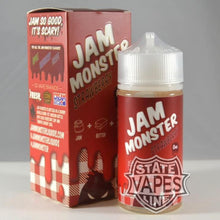 Jam Monster Strawberry 100ml0mgStateline Vapes