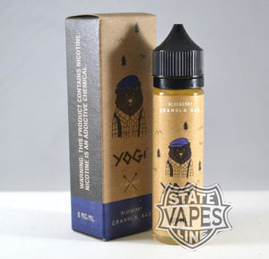 Yogi Blueberry Granola Bar 60ml - Stateline Vapes