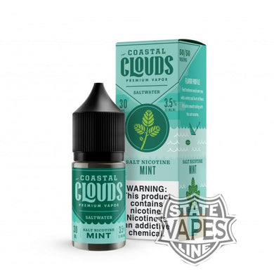 Coastal Clouds Salt nic Mint 30ml