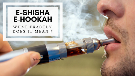 Electronic or e Shisha or e-Hookah. What is it?
