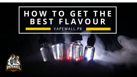 How To Get Better Flavour From Your E-Juice