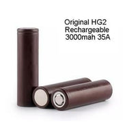 LG HG2 18650 Battery (Order Separately) (1pc)
