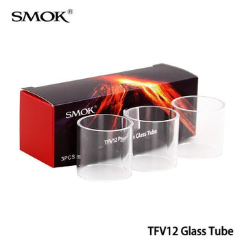 SMOK Pyrex Glass Tube for TFV12 - (3pc/pack)