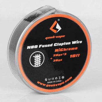 N80 Fused Clapton Wire 26/36ga  10ft By Geek Vape
