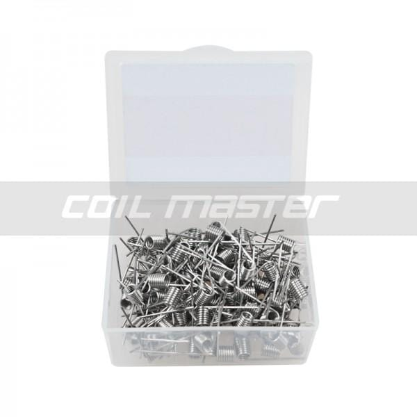 Coil Master Pre-built A1 Wire 0.4/0.5/0.6/0.8/1.5 Ohm Wire 100/Pack
