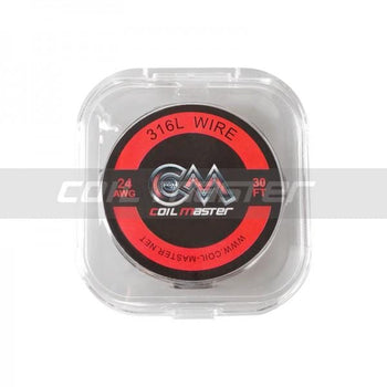 Coil Master SS316L Wire 22/24/26/28/30 GA 30ft/roll