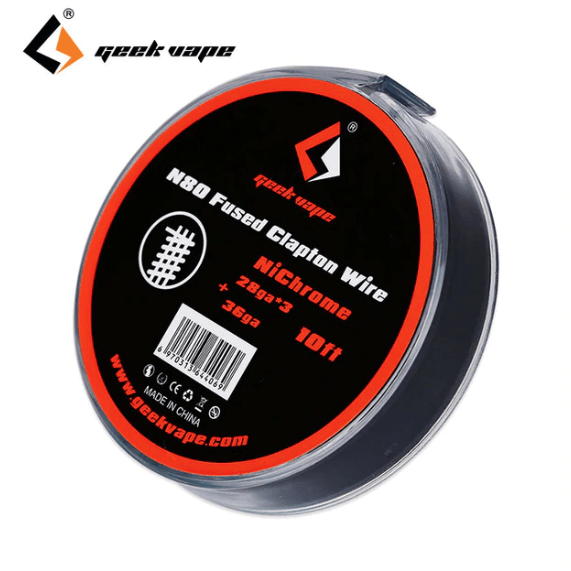 N80 Fused Clapton Wire 28/36ga  10ft By Geek Vape