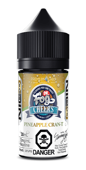 Pineapple CRAN-T NIC Salts  -  (previously called Pineapple Crantini)