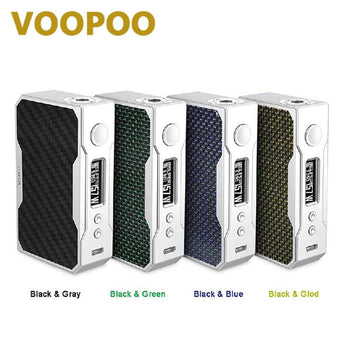 VOOPOO Drag 157W TC Box Mod with 32-bit US Gene Fun Chip Drag 157W TC VW Mod E-cig Vape Box Mod No 18650 Battery