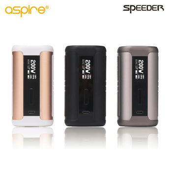 Aspire Speeder 200W Mod TC Firmware up gradable without  Battery Aspire  Electronic Cigarette Vape Mod