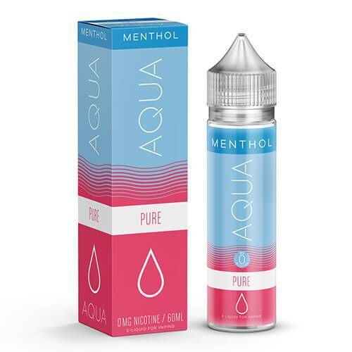 Pure Menthol by AQUA Ejuice 60ml