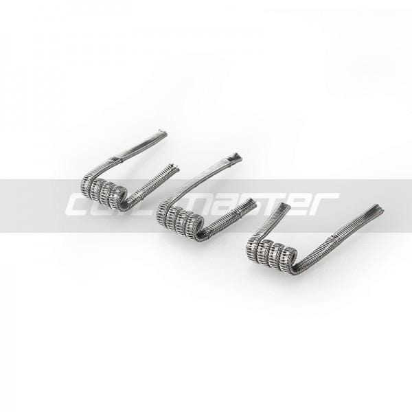 Coil Master Pre - Built 'staple Staggered Fused Clapton Coils' - Pack Of 3