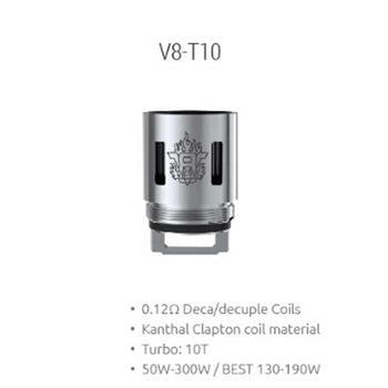 SMOK TFV8 V8-T10 Decuple Core 0.12ohm (3pcs/pack)