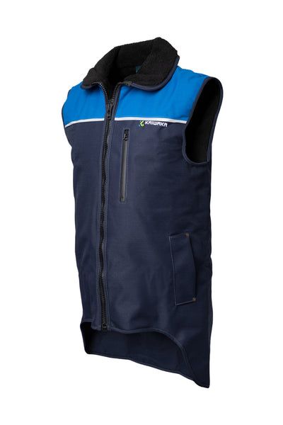 Stormforce Blue Sleeveless Vest | Fishing vest | Kaiwaka Clothing