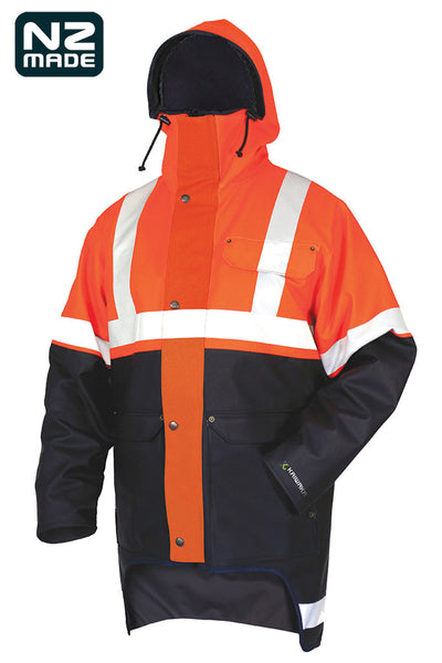 Safety waterproof jacket | Kaiwaka Clothing