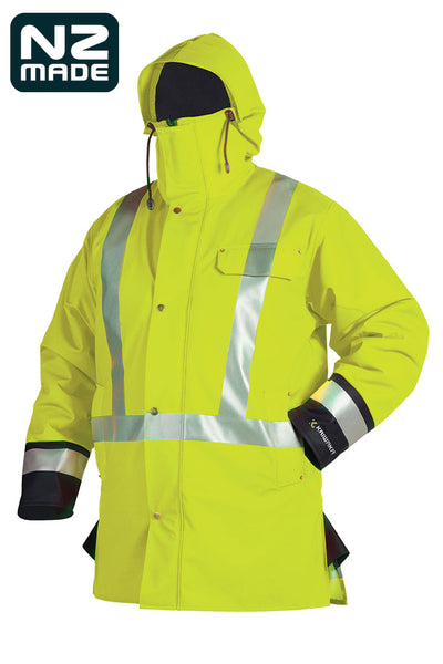 Tufflex High- Viz Winter Jacket | Kaiwaka Clothing