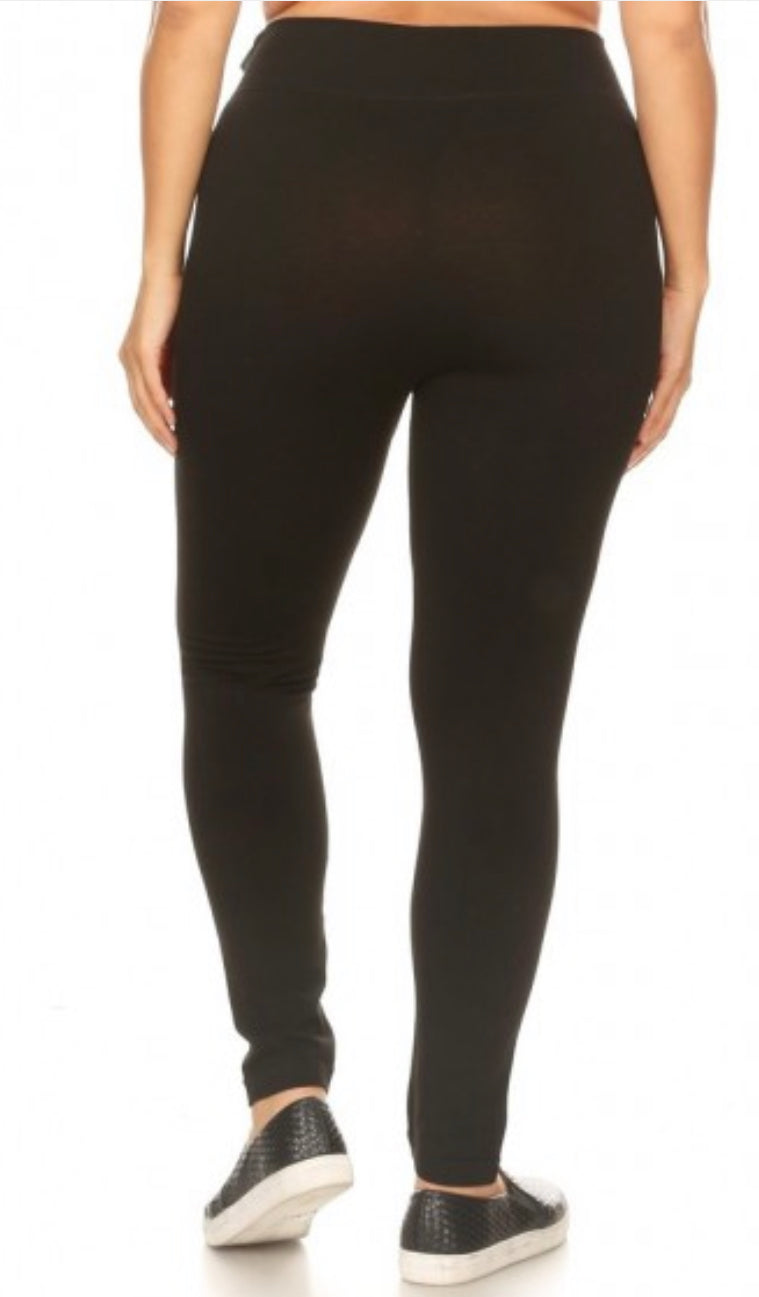 Plus Tummy Control Leggings