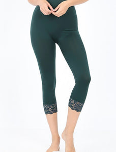 Lacey Hunter Green Leggings