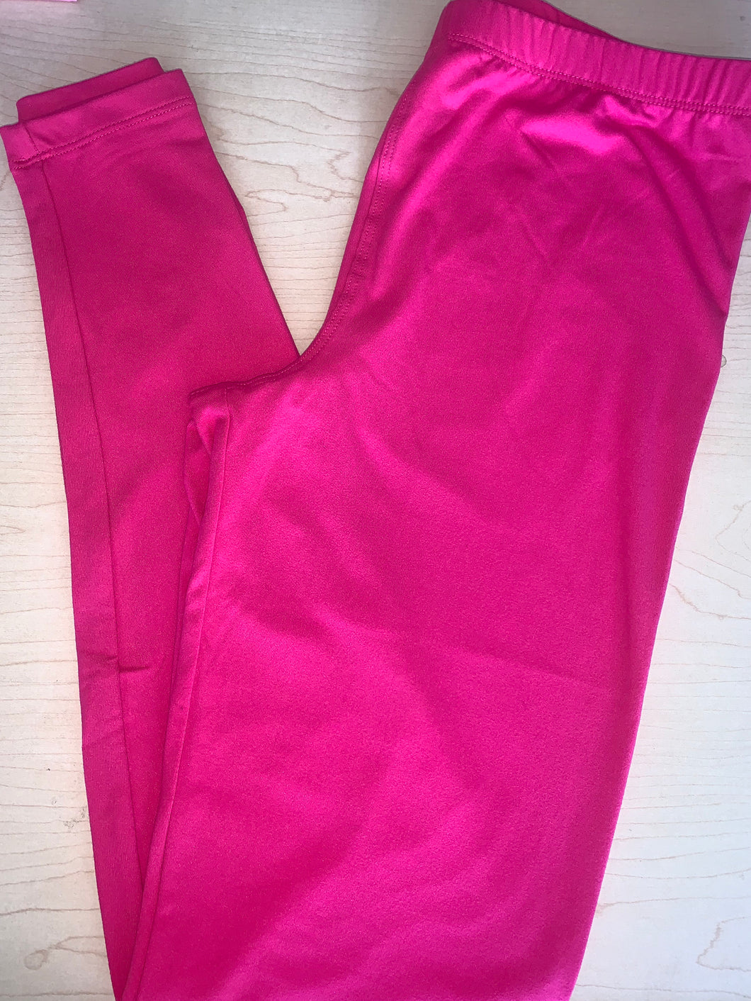 Hot Fuchsia Leggings