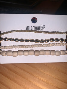 Natural Anklet Set