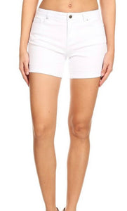 White Lies Denim Shorts