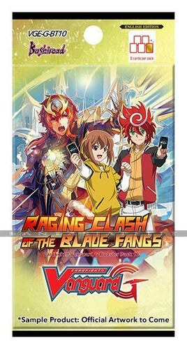 CardFight Vanguard G Raging Clash of the Blade Fangs - CFV Sealed