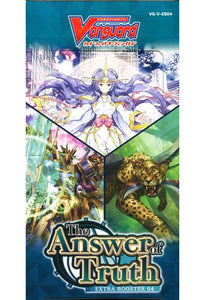 CardFight Vanguard Extra Booster The Answer of Truth - CFV Sealed