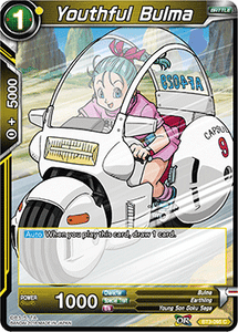 Youthful Bulma - BT3-095 FOIL VERSION