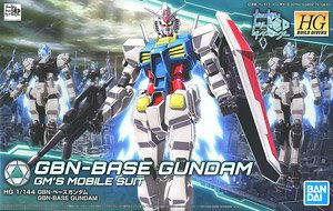 HG Gundam GBN-Base Gundam GM's mobile suit - Model Kit