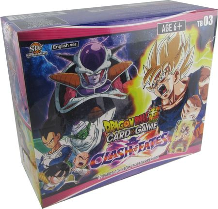 Dragon Ball Super Clash of Fates Booster Box - Sealed DBS