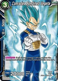 Comrades Combined Vegeta - EX01-02  Expansion Promo