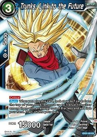 Trunks Link to the Future - EX01-03  Expansion Promo