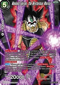 Masked Saiyan the Mysterious Warrior - EX02-02  Expansion Promo