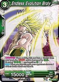 Endless Evolution Broly - P-033 PROMO FOIL VERSION