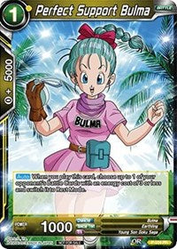 Perfect Support Bulma - P-034 PR Promo FOIL VERSION