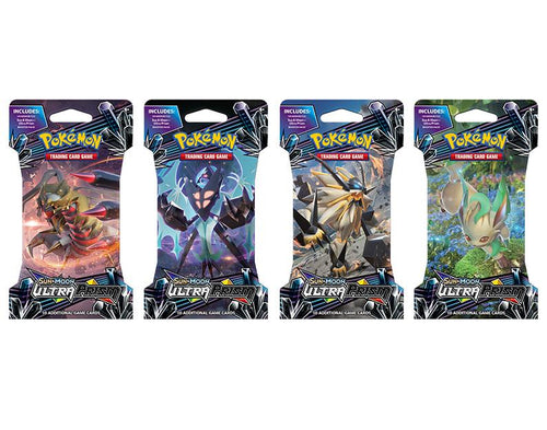 Pokemon Sealed Ultra Prism Blister Pack