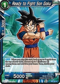 Ready to Fight Son Goku - TB1-027