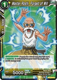 Master Roshi, Forged of Will - TB1-076