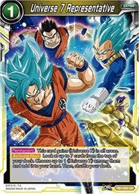 Universe 7 Representative - TB1-095 FOIL VERSION